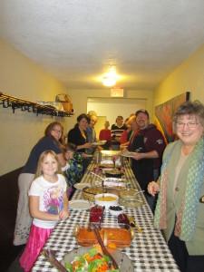 Thanksgiving Feast 2014